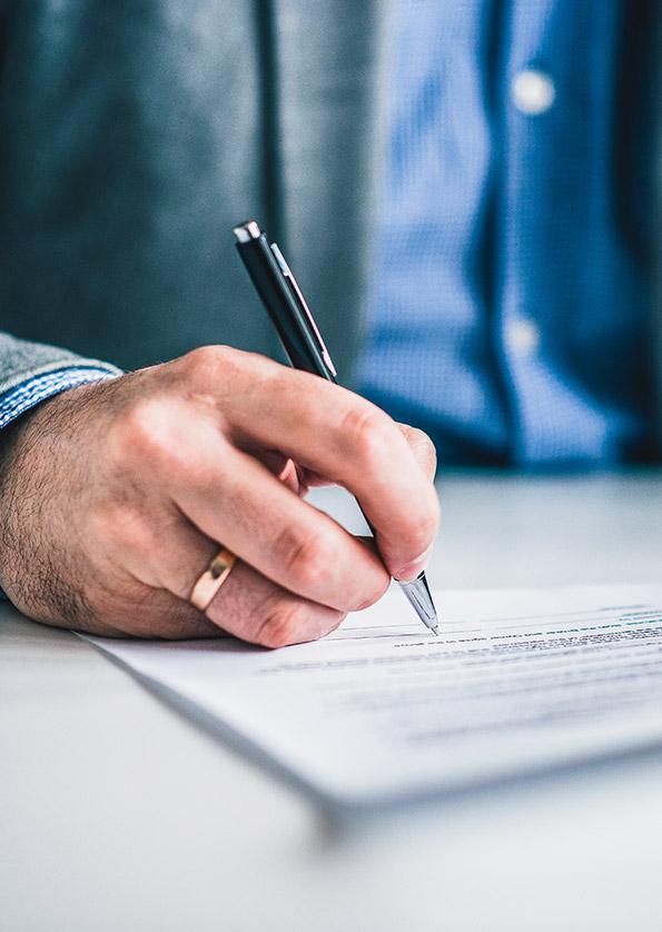 Cavada und Partner Rechtsgebiete Kündigung im Arbeitsrecht